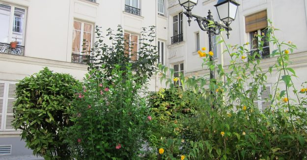 courtyard rue Poncelet