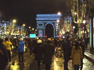 Champs-Elysées, Paris 31.12.2017