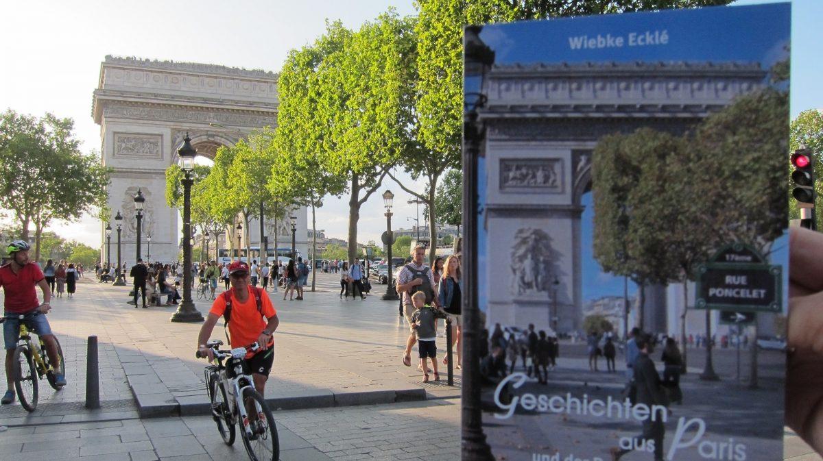 Arc de Triomphe - Blick vom Drugstore