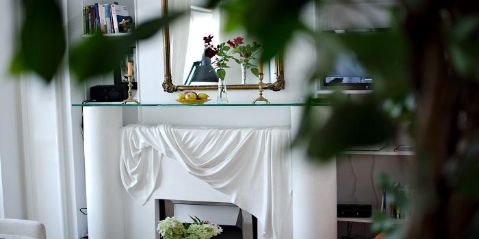 Wohnzimmer Ferienwohnung Paris-Poncelet - Detail 5