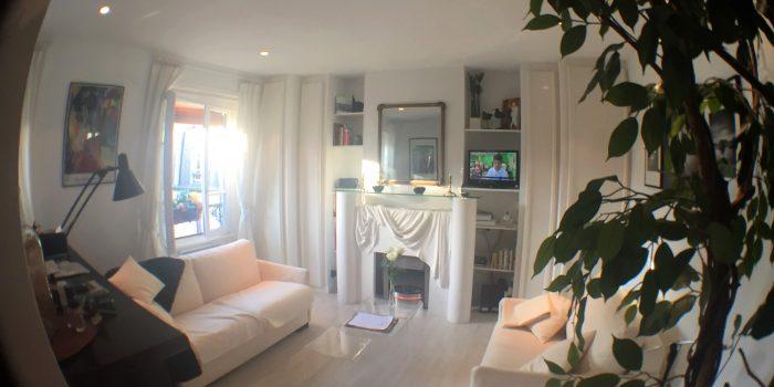 Paris-Poncelet - Ferienwohnung - Wohnzimmer