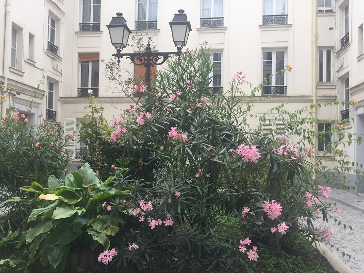 Innenhof rue Poncelet Paris